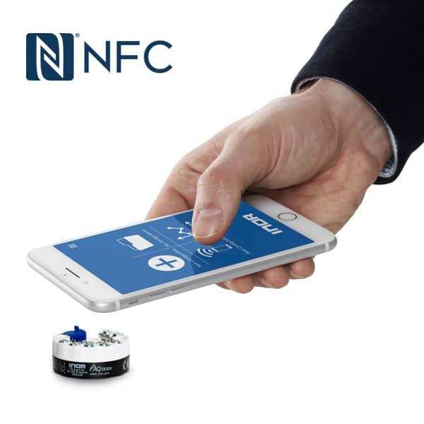 NFC konfigurering med iPhone