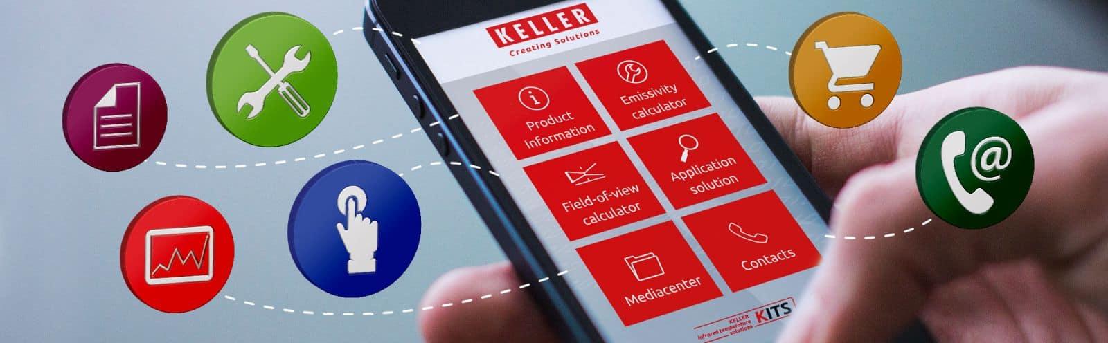 Keller app KITS banner