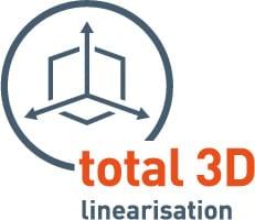 Total 3D linjärisering